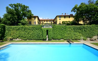 Villa La Vescogna in Summer.