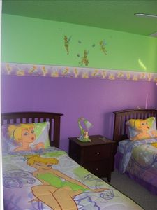 1 of two Disney themed bedrooms.