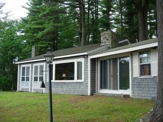 Sheepscot Village cottage photo - West View of Cottage