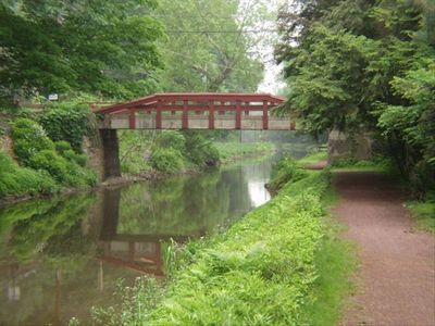 Walking along the canal you will see many beautiful bridges like this one.