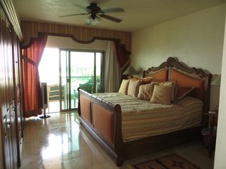 Nuevo Vallarta condo photo - Spacious second master with gorgeous built-in closets/television system