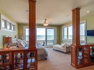 Grand Beach house photo - Master Suite with private balcony