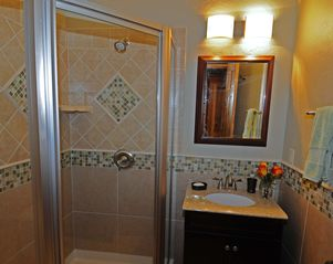 Taos Ski Valley house photo - Entry-level bath with custom shower