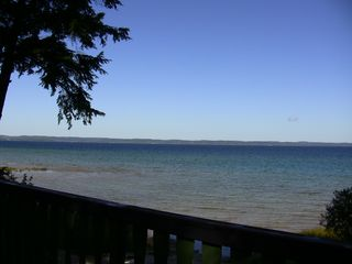 Traverse City house photo - View from the deck of West Bay