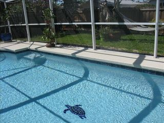 Vanderbilt Beach house photo - Swim with the Turtles New Pool with New Heater.