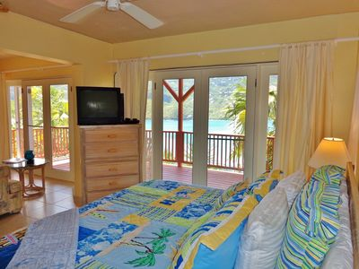 Wake up to a private setting & enjoy the view off your spacious balcony.