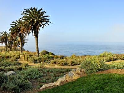 Enjoy beautiful nature walking trails throughout Terranea's 102 acres!