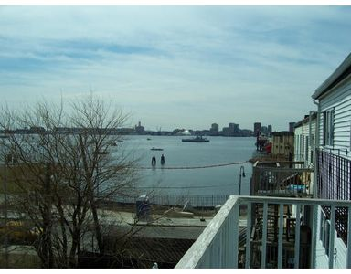 View towards Boston Harbor