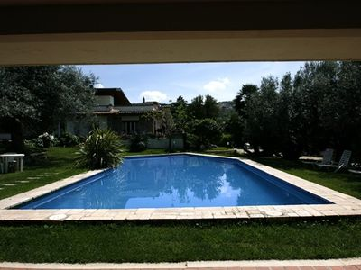 cauntry villa with private pool and views on Rome and Tivoli