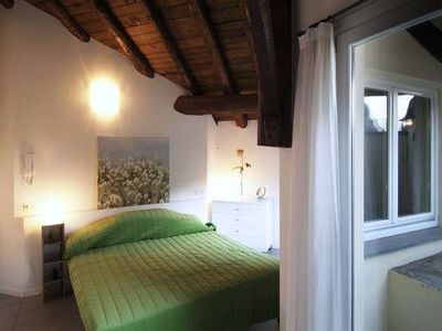 Menaggio Fantastico - Master Bedroom suite with sunny Roof Terrace