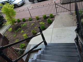 Capitol Hill townhome photo - Front Garden and Cast-Iron Staircase