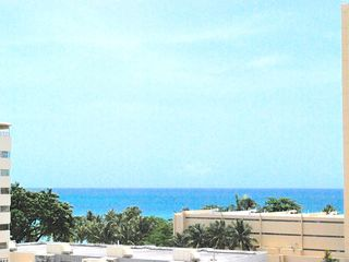 Isla Verde apartment photo - Partial Ocean View from our balcony