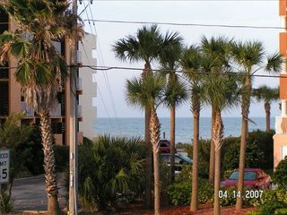 Redington Beach condo photo - Ocean View from living room