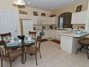 Completely equipped kitchen!