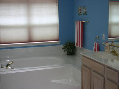 Ocean Pines townhome rental - Master Bath