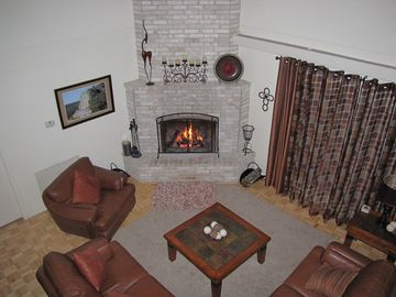 Main Living Area w/ Fireplace