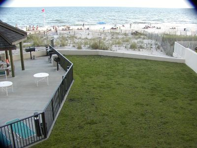 Orange Beach condo rental - Beach view from condo