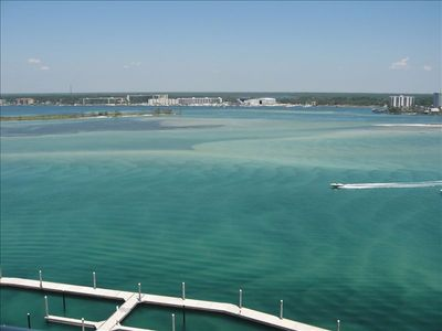 Panoramic Views of Old River and Perdido Bay from Our Penthouse Perch!