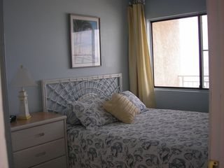 Crescent Beach condo photo - Oceanfront Bedroom with Queen size Bed