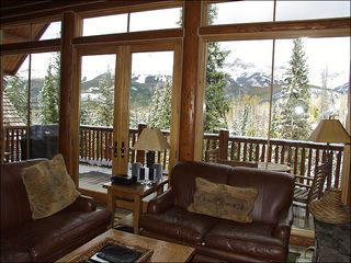 Mountain Village house photo - Living Area with Fantastic Views of Telluride Valley