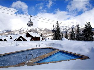 Mountain Village house photo - Pool Deck Overlooking the Gondola and Peaks