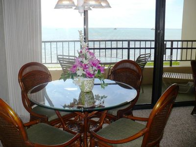 Unsurpassed beach/ocean views from lanai and condo.