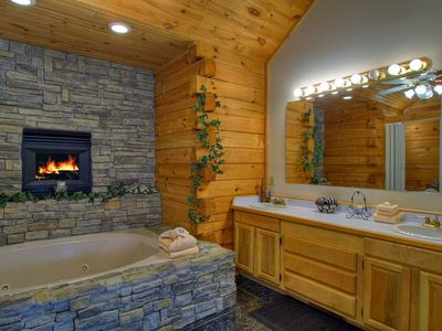 Wow Who Wouldn't Enjoy this Fireplace