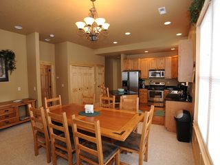 Estes Park condo photo - Spacious dinning room w/extra chairs (in each 3 bedroom condo)