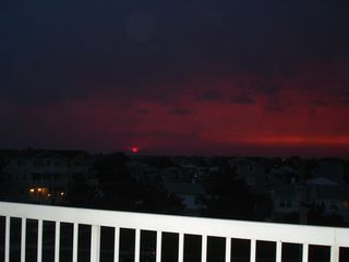 Brigantine condo photo - Amazing Sunset!