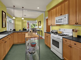 Seattle house photo - Kitchen Flows into Dining Room