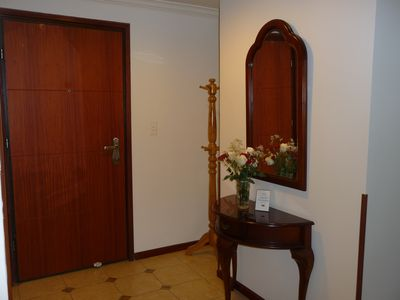 Welcoming Hall Entrance
