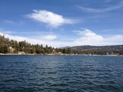 I loved this shot from a pontoon boat on a lake outting. Big Bear is beautiful.