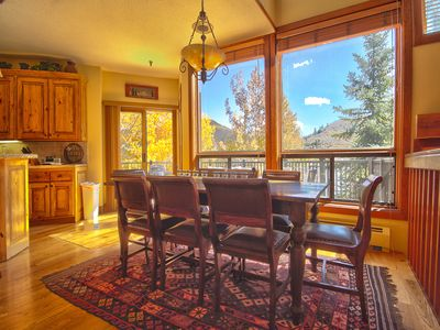 Dining Area w/ Views of Deer Valley