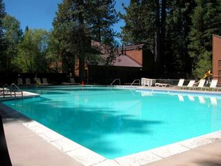 Carnelian Bay townhome photo - Summer pool