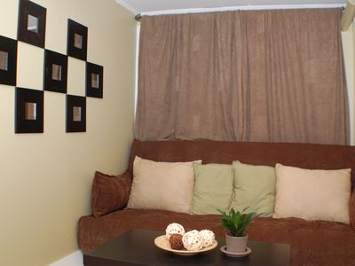 Dupont Circle apartment rental - 2nd bedroom with double sized futon