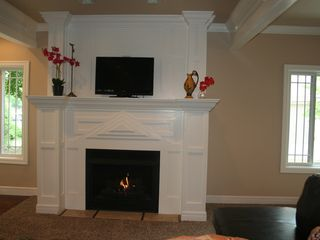 Branson house photo - Relax by Fireplace