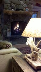 Gouldsboro cabin photo - Relax in the Great Room sitting area...
