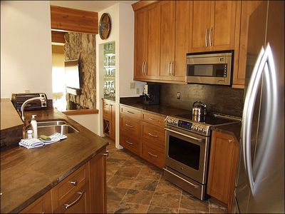 Aspen house rental - Newly Remodeled Kitchen (2013)