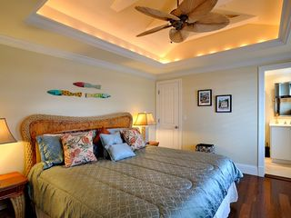 Key West house photo - Second bedroom also has king bed, overhead fan.