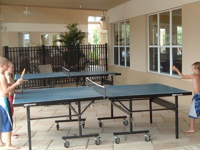 Windsor Hills townhome rental - Game Room - Ping Pong, Pool Tables, Foosball