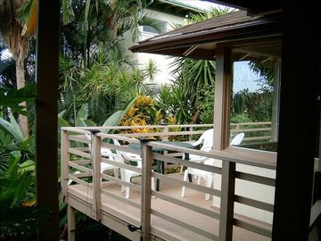 Hauula house rental - NORTHERN UPPER LANAI