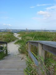Harbor Island condo photo - Boardwalks over the dunes lead to sandy paths to the beach.