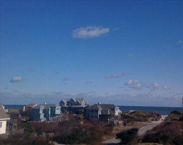 Corolla house rental - Deck View 2011 - A SHORE DELIGHT