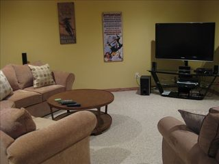 Eden townhome photo - Media Room includes 52' TV and home theater system