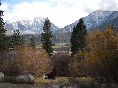View From Mammoth Creek Park
