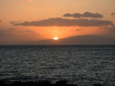 Sunset From Kamaole Beach III