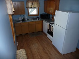 St. Joseph apartment photo - Eat in Kitchen - Dishwasher, Microwave, Range, Coffee Maker, Toaster (16' x 8')