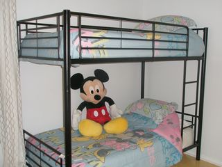 Windsor Palms house photo - Mickey's Bunk Beds - on the upper floor Can be configured as twins if preferred