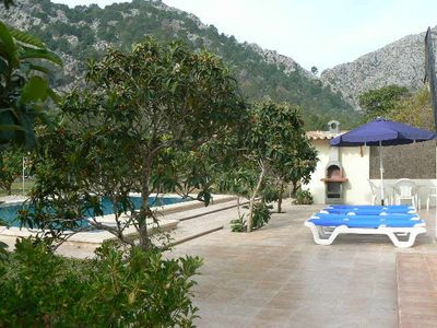 Pollensa villa rental - BBQ & Swiming pool