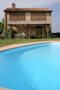 Three Bedroom Detached Villa in Tuscany.   A lovely private villa with its own swimming pool and garden,